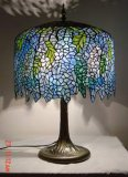 Lampe Tiffany glycine