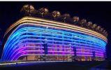 シンセンの工場専門の競技場の屋外の軽い高い発電100With200With300With500W LEDのフラッドライト