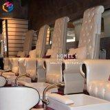 Lujosos Muebles de Salón de Manicura Pedicura Pedicura Spa Masaje Banco silla silla