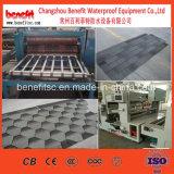 Cadena de producción estándar impermeable de la ripia de la azotea del asfalto 3-Tab