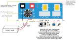 3 in 1 weg vom Rasterfeld-hybriden Solarinverter SPG 0.6-3kVA