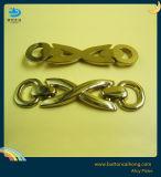 ハンドバッグの金属のロゴの合金の版のためのカスタマイズされた装飾的な金属のラベル