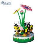 Приятный дизайн Mini 3 мест карусель детский игры