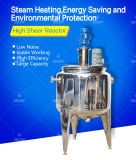 La grande capacité d'approvisionnement de masse et le réacteur inférieur de cisaillement de Nosize, le chauffage de vapeur et le chauffage électrique peuvent être changés, réacteur de haute performance