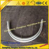 Perfil de aluminio del tubo con el proceso de doblez