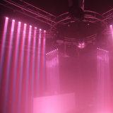 8PCS 10W LED Sharpy 이동하는 맨 위 광속 단계 빛