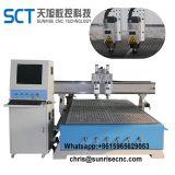 Los husillos Aircooling 1325-2 ATC de la máquina de grabado CNC Router CNC máquina
