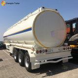 Acoplado del petrolero del depósito de gasolina de la leche del precio del carro del petróleo pesado de la capacidad