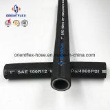 Fil d'acier tube hydraulique en spirale (SAE100 R9)