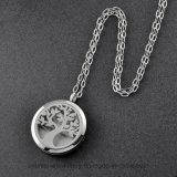 De Juwelen van het Medaillon van het Parfum van het Roestvrij staal van het Ontwerp van de boom 316L