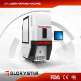 Máquina de la marca del grabado del laser de la fibra de Glorystar para el metal