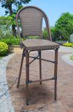 خارجيّ فناء وقت فراغ منزل فندق مكتب [ويكر] مسطّحة ألومنيوم خيزرانيّ يتعشّى كرسي تثبيت (7361)