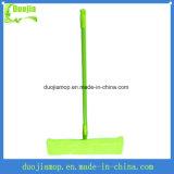 Espanadores lisos macios baratos da vara do espanador de Microfiber da cor verde