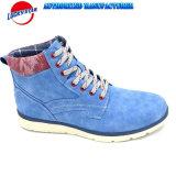 Ss18よい価格の新しい方法人の偶然靴の標準的なブート様式新しいPU/Textileのデザイン