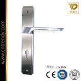Maniglia di portello in lega di zinco della serratura del piatto di nuovo disegno (7005-Z6057)