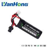 bateria do Li-Polímero de 7.4V 1800mAh para o gigante hidráulico