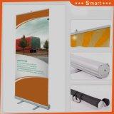 Sélectionnez votre favori du rouleau de tissu d'exposition jusqu'bannière horizontale Stand