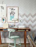 Gris claro 4X8 pulgadas/10x20cm cristal biselado brillante de la pared cerámica mosaico Metro baño cocina Decoración