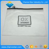 Couleur personnalisée de l'impression A4 PVC Zip sac d'emballage