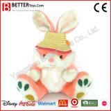 Rose mignon Bunny jouets mous animal en peluche de lapin en peluche pour bébé fille