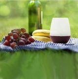 Стекла вина 12oz силикона Joyoldelf, комплект 4 - вино силикона & судомойки качества еды ясное безопасное красное или белое вино, пиво, виски или любой напиток - не будут никогда