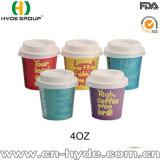 кофейная чашка бумаги дегустации 4oz для промотирования