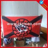 Хорошее качество трикотажные полиэфирная ткань спортивных флаг