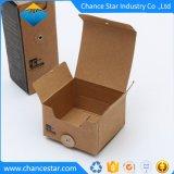 カスタムEcoはリサイクルされたブラウンクラフト紙包装ボックスを印刷した