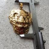 Collana Pendant Mjhp060 di grande dell'oro disegno su ordinazione del leone