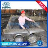 金属木ペーパータイヤのための二重シャフトのプラスチックリサイクルのシュレッダー