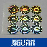 Gemaakt in Sticker van het Hologram van de Veiligheid van de Folie van de Douane van de Fabrikant van China de Beste Gouden Waterdichte