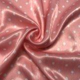 Veludo de seda de imitação impresso para o vestido do vestuário