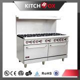 Cuisinière à gaz brûleurs à gaz avec four Matériel de cuisine