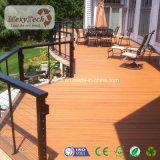 Decking composé d'installation d'effet rapide en bois solide pour le jardin