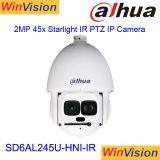 Outdoor 300m de long distance IR SD6AL245U-Hni-IR 45X 2MP caméra IP PTZ de suivi automatique