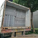 Hojas incombustibles de aluminio del material compuesto de PVDF