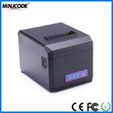Impresora de alta velocidad del recibo de la posición 300mm/Sec, impresora termal del recibo de 80m m, conectividades opcionales, Mj Hop-E801 de USB/RS232/PS2/LAN/Bluetooth/WiFi