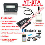 Bluetooth Kit mains libres voiture lecteur MP3 avec chargeur de voiture USB - téléphone mobile Bluetooth 4.1 prend en charge