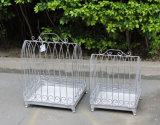 庭の装飾の鉄の鳥籠