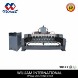 8 Spindle CNC Engraving Machine with Rotary Axis (VCT-2225FR-8H)
