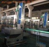 Pequeña capacidad lavado, llenado y tapado de la máquina de embotellamiento de agua 5L