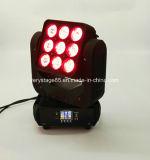 Attraktiver 9 X10W RGBW LED Träger-bewegliches Hauptlicht