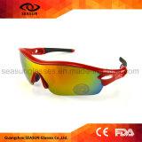 Многоцветные УФ400 Велосипедный спорт Rinding ТЕБЯ ОТ ВЕТРА цикла движения солнечные очки