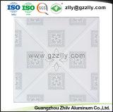 Bon prix 600*600/300*300 dalle de plafond métalliques décoratifs avec la norme ISO9001