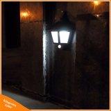 LED 문 갑판 안전 밤 점화를 위한 태양 벽 램프 옥외 운동 측정기 빛