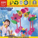 Brinquedo educacional da inteligência da casa plástica para o bebé