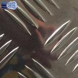 un piatto Checkered di alluminio dello strato della barra della barra cinque della barra due