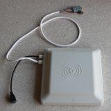 El rendimiento de UHF RFID de largo alcance del lector integrado de 8dBi Antena con RS232 y la interfaz RS485