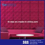 中国のポリエステル線維の装飾的な3D音響の壁パネル/天井板