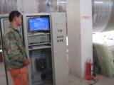 FRP GRPのタンクまたは容器の作成のための水平の巻上げ機械